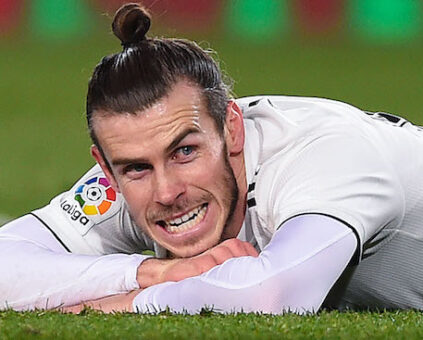 Gareth Bale Wales footballer