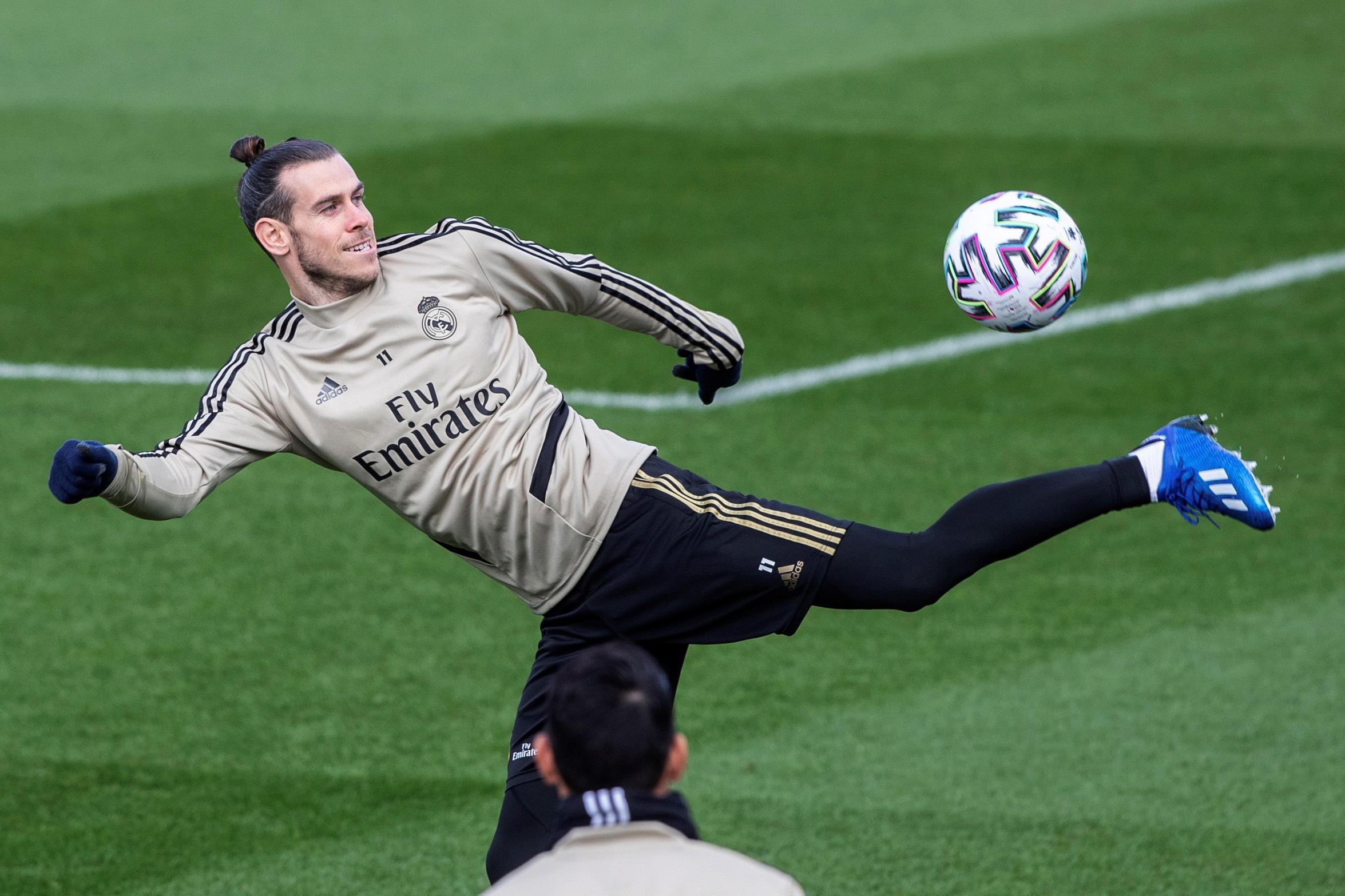 Gareth Bale the footballer is in great shape