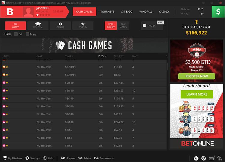 BetOnline - football betting sites